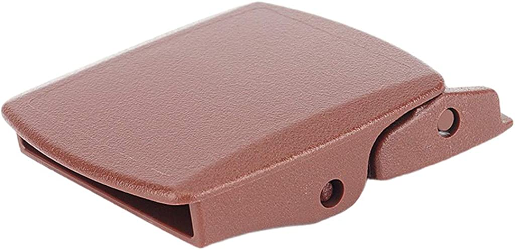 joyMerit Solid Square Slide Click Buckle Replacement For 38mm Canvas Belt Accessories
