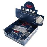 Insert Tape White Textured 1 inch Display Box/12 - WHITE / 1