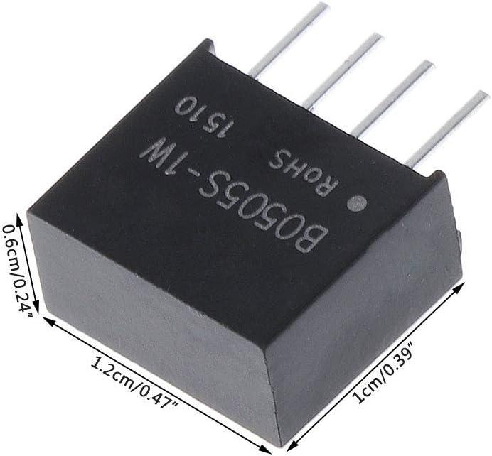 Ycncixwd B0505S-1W DC-DC 5V Module dalimentation 4 Broches Convertisseur isol/é de qualit/é