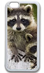 Cute Animal Case for iPhone 6 Plus TPU White by Cases & Mousepads