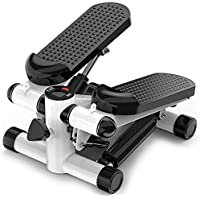 Best Goods 2-in-1 mini-stepper, up-down-stepper voor thuis, klein fitnessapparaat voor been- en biltraining, hometrainer…