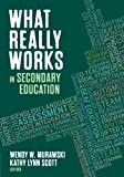 img - for What Really Works in Secondary Education book / textbook / text book
