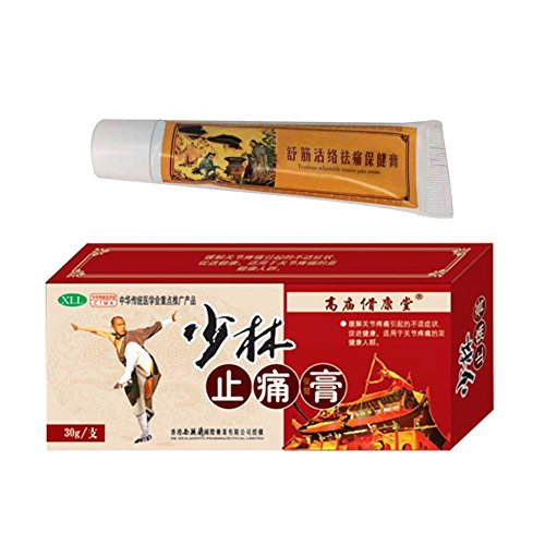 Effective Chinese Shaolin Analgesic Cream Suitable for Rheumatoid Arthritis/Joint pain/Back Pain Relief Analgesic Balm Ointment