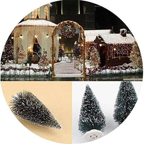 104.5Cm Mini Christmas Tree Artificial Xmas Hemp Trees Cedar Ornaments Festival Table Miniature SNO