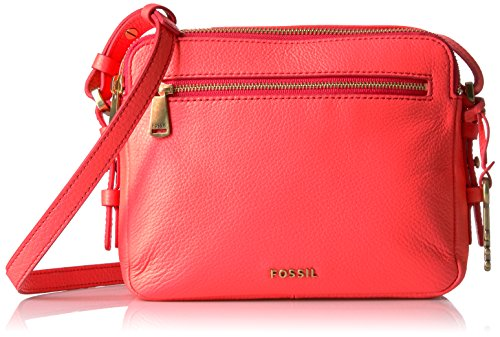 Fossil Piper Toaster Crossbody - Neon Coral - One Size