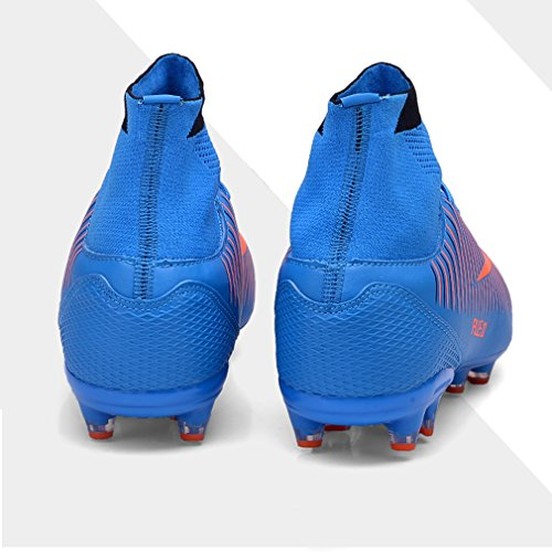 c3e268a90 ZIITOP Kids Football Boots Unisex High Top Soccer Shoes Boys Professional  Spike Training Shoes Outdoor Sneakers Teenagers Sports Boots - Buy Online  in Oman.