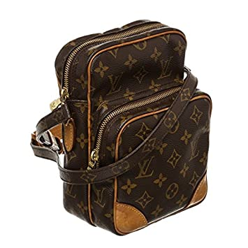 79f21bb4fc8f Louis Vuitton Pre-Owned Monogram Canvas Leather Amazon Crossbody Bag  Amazon.co.uk   Luggage