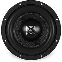 NVX 10-inch True 750 watt RMS Dual 4-Ohm Car Subwoofer [ VC Series ] 3-Dimensional Die Cast Aluminum Basket [VCW104]