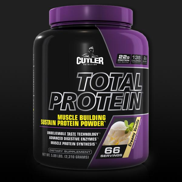 Amazon.com: Cutler Nutrition Total Protein Muscle Building Sustain Protein Powder Creamy