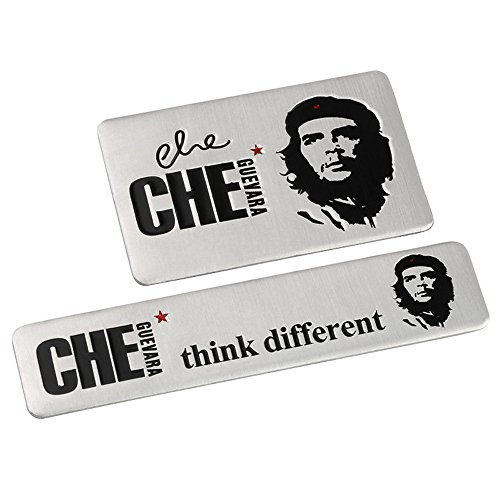 Che Guevara Quotes Car Decals Car Stickers for Trucks Motorcycles Tattoo Sticker Face Car Decorations Car Accessories Waterproof Stickers Emblem Badge 2pcs【1797】