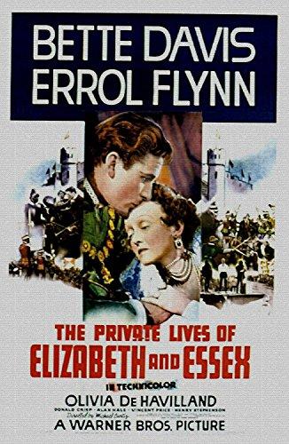 Odsan Gallery The Private Lives Of Elizabeth And Essex, Betty Davis & Errol Flynn, 1939 - Premium Movie Poster Reprint 16