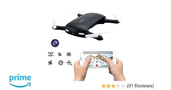 50599acdf73111 Amazon.com  Pocket Selfie Drone Quadcopter