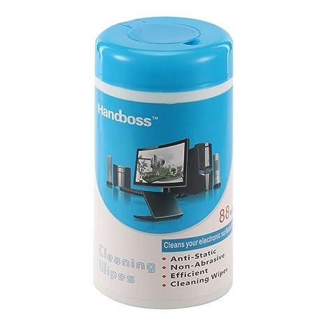 TiooDre 88 unids/Lote toallitas húmedas de Limpieza Soft Laptop Monitor LCD TV Teléfono Pantalla