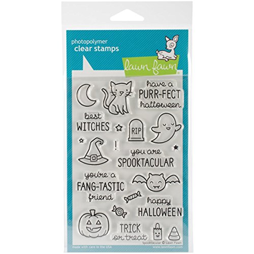 Lawn Fawn Clear Stamp Spooktacular -