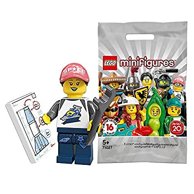 LEGO Series 20 Minifigures Space Fan NASA Girl 71027: Toys & Games