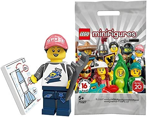 SPACE FAN ROCKET GIRL LEGO Series 20 Minifigures 71027 FREE S//H /& IN HAND