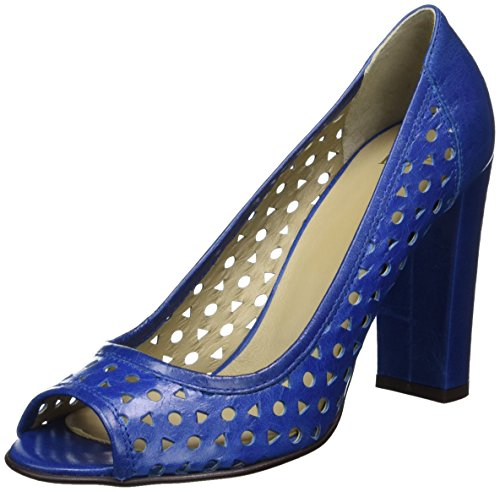 Noe Antwerp Damen Nerissa Peep-Toe Blau (True Blue)