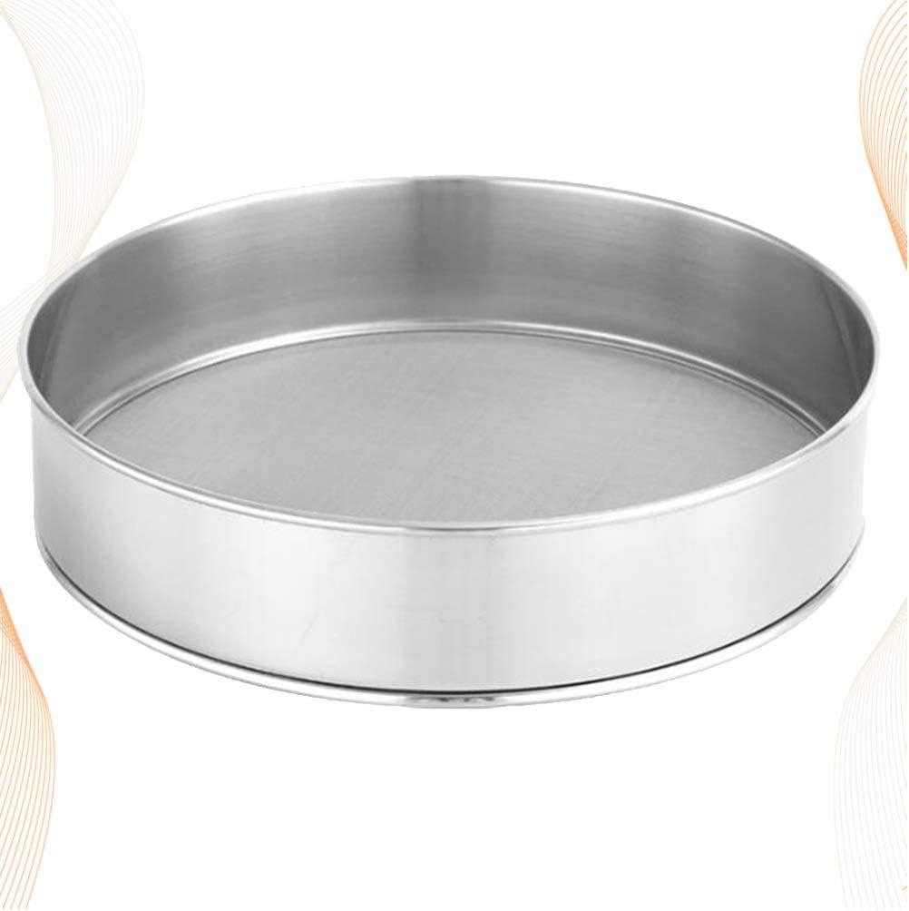 25 cm gastlando Stainless Steel Flour Sieve Kitchen Colander Sieve Baking Sieve Ø
