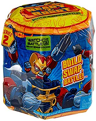 Ready2Robot Mech Bot Singles Series with Easy Store Slime Capsule