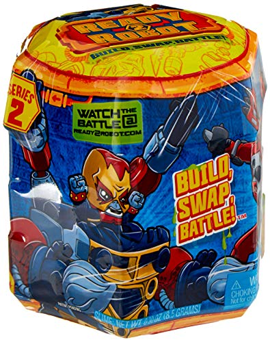 Ready2Robot Mech Bot Singles Series with Easy Store Slime Capsule ()