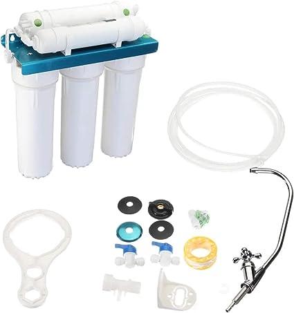 EVERAIE Filtro de Agua casero 5 Etapas purificador de Agua de ...