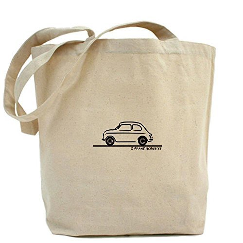 Cafepress Unique design Fiat 500Tote bag–standard multi-color by Cafepress