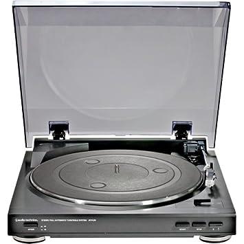 Audio-Technica AT-PL50 tocadisco Negro: Amazon.es: Electrónica