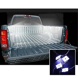 Amazon Com Led Truck Bed Rail Light Kit For 1994 2010
