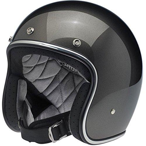 Helmet Metallic - Biltwell Unisex-Adult Open face Bonanza 3/4 Helmet (Bronze Metallic, Medium) - BH-BRZ-MT-DOT-MED