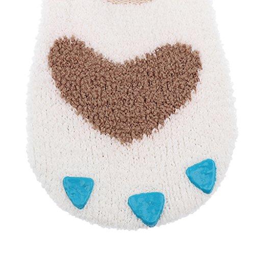0e7a1d2fa Prettyia Comfy Claw Baby Ankle Warm Sleep Socks Non Slip for 0-2 ...