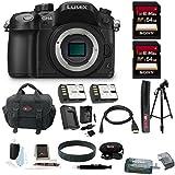 Panasonic LUMIX DMC-GH4K Mirrorless Camera Bundle (Deluxe Bundle)