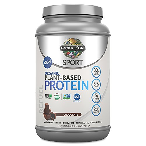 Acid Protein (Garden Of Life Sport Organic Plant-Based Protein - BCAA Amino Acid Protein Powder, Chocolate 29.6oz (1lb 14oz / 840g))