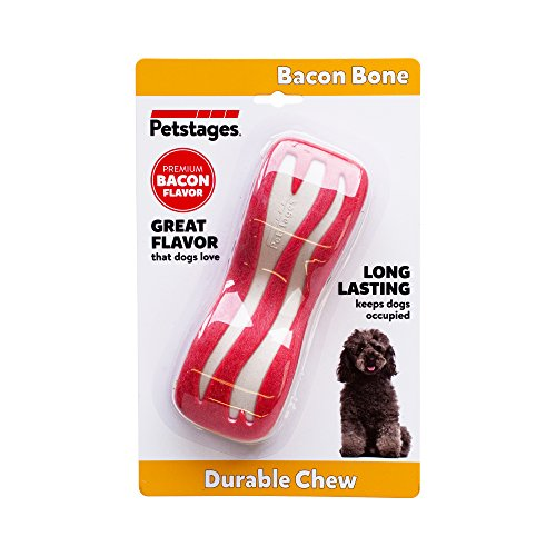 Petstages Bacon Dental Bone Dog Chew