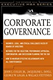 img - for Corporate Governance: The McGraw-Hill Executive MBA Series book / textbook / text book
