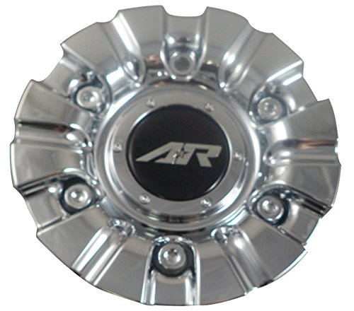 - American Racing Wheels # 1639290016 Chrome Custom Wheel Center Caps (4 CAPS)