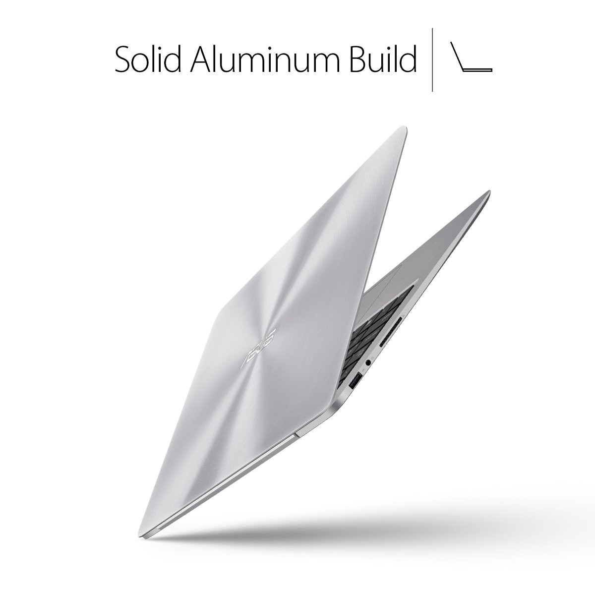 ASUS ZenBook UX330UA-AH54 13.3-inch LCD Ultra-Slim Laptop (Core i5 Processor, 8GB DDR3, 256GB SSD, Windows 10) w/ Harman Kardon Audio, Backlit keyboard, Fingerprint Reader by Asus (Image #3)