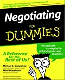 Negotiating for Dummies, Michael Donaldson and Mimi Donaldson, 1568848676