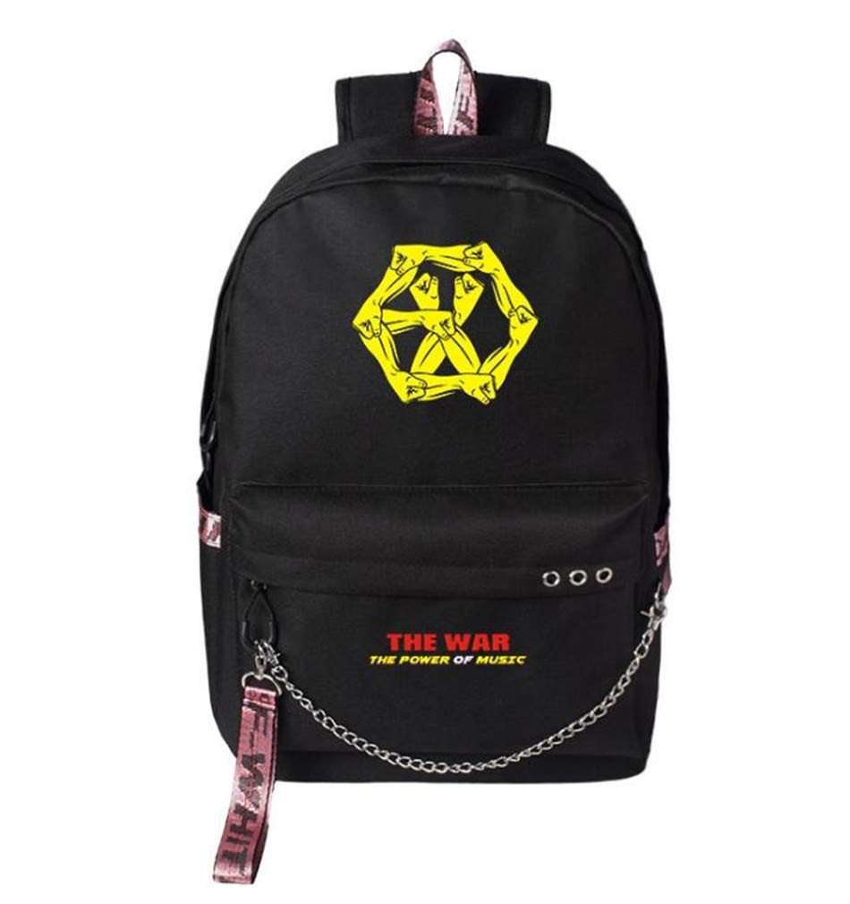1a1ba5ce756b Amazon.com | Youngate Kpop BLACKPINK EXO GOT7 Backpack College ...