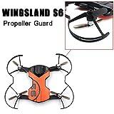 Propeller Protector for WINGSLAND S6, Elevin(TM) WINGSLAND S6 Drone Propeller Guard Bumper Protector for Quadcopter Blades Parts
