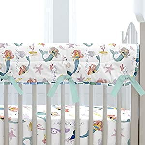 51584%2B9whcL._SS300_ Mermaid Crib Bedding and Mermaid Nursery Bedding Sets