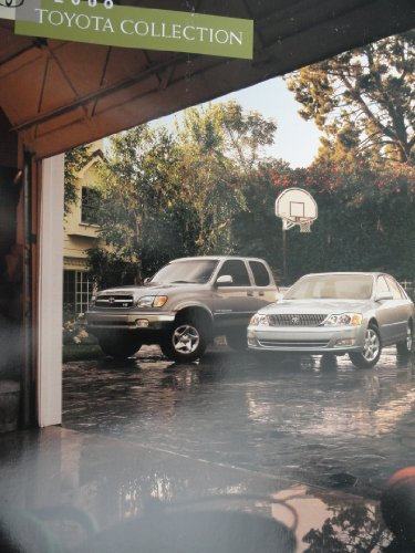 2000 Toyota Solara / Land Cruiser / Tundra / Avalon / Corolla / 4Runner / Tacoma / Camry / SIenna / RAV4 / Prius Sales Brochure