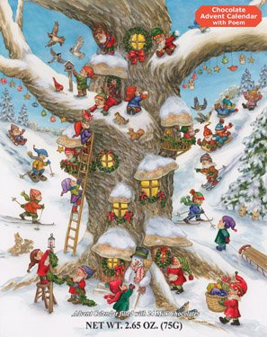 Elf Magic Chocolate Advent Calendar