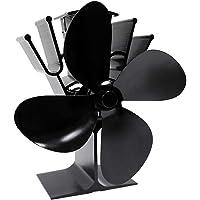 De Blad van de kachelventilator, 4 Blad de Ventilator Warmte Aangedreven Kachel Ventilator 4 Blad of Hout/Log Brander…