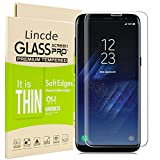 Galaxy S8 Screen Protector,Galaxy S8 Glass Screen Protector,Linycase [3D Touch] [Ultra Clear] [HD Clear] Tempered Glass Screen Protector for Samsung Galaxy S8