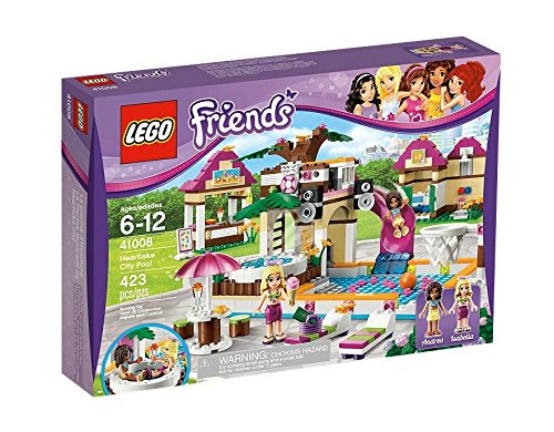 169 opinioni per LEGO Friends 41008- La Piscina di Heartlake City