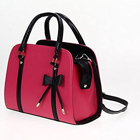 New FashionWomen Lady Large Leather Handbag Shoulder Shopping Bag Tote Messenger Bag , Can hold a A4-sized documents, books,a phone, a wallet, a cosmetic, etc. (Alexander Wang Duffle)