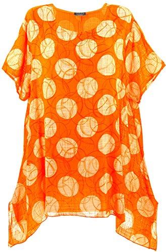 Alberta Grande Bohme Orange Charleselie94 t Orange Tunique Longue Orange Taille Cn5n7apW