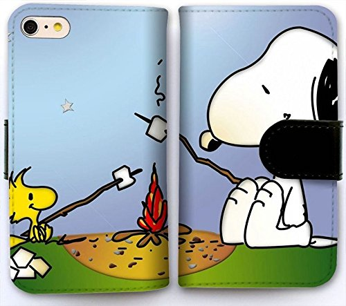Custom Iphone 6 6s 4 7 Inch Flip Wallet Case Snoopy Wallpaper 3