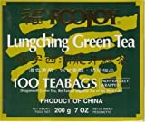 Foojoy Lungching (Dragon Well) Green Tea By Case - 6 X 100 Individually Wrapped Tea Bags