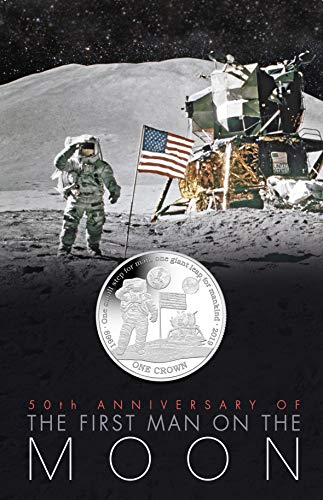 - Pobjoy Mint 2019 NASA 50th Anniversary of the First Man on the Moon Copper Nickel Coin in Pack